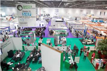 Safety Health Expo 2017 Exhbit Floor