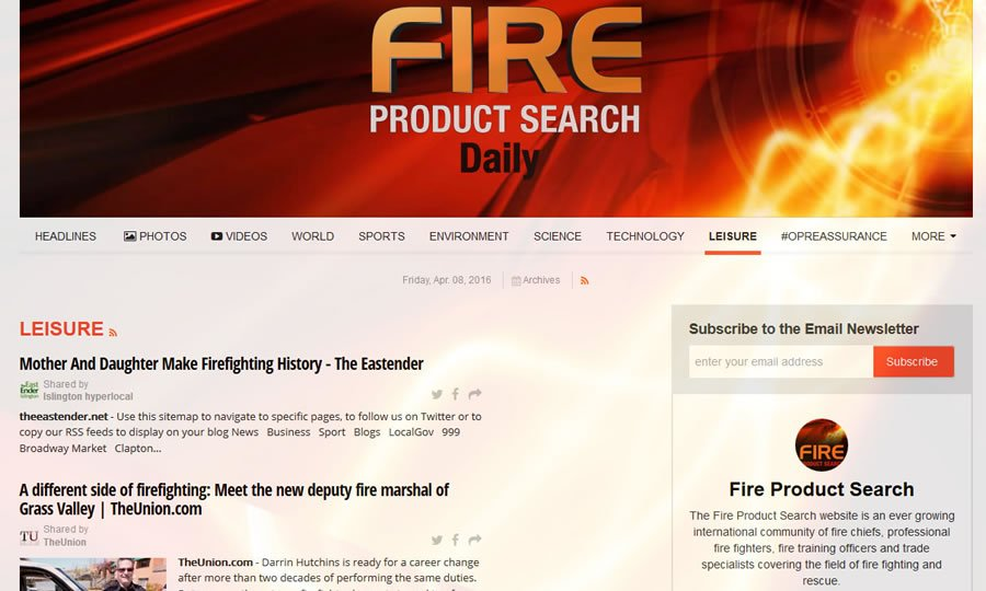 Fire Product Search Daily
