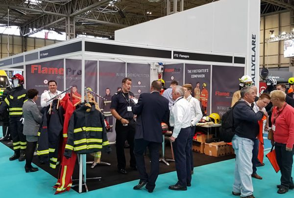 Fire Product Search Team at The Emergency Services Show 2017