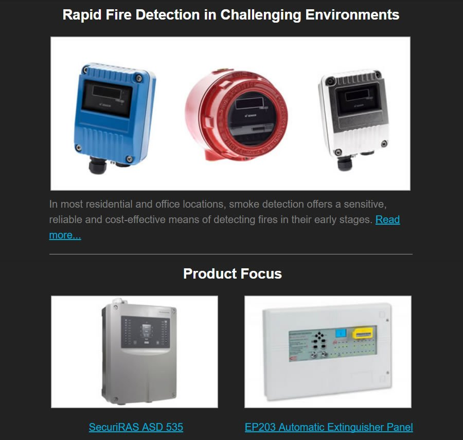 NEW Fire Safety Search Newsletter