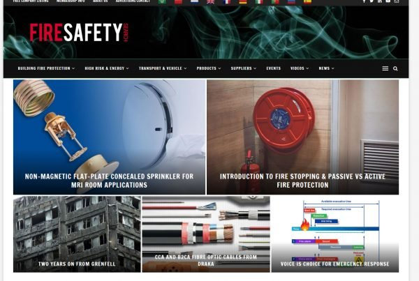 Fire Safety Search website 2019
