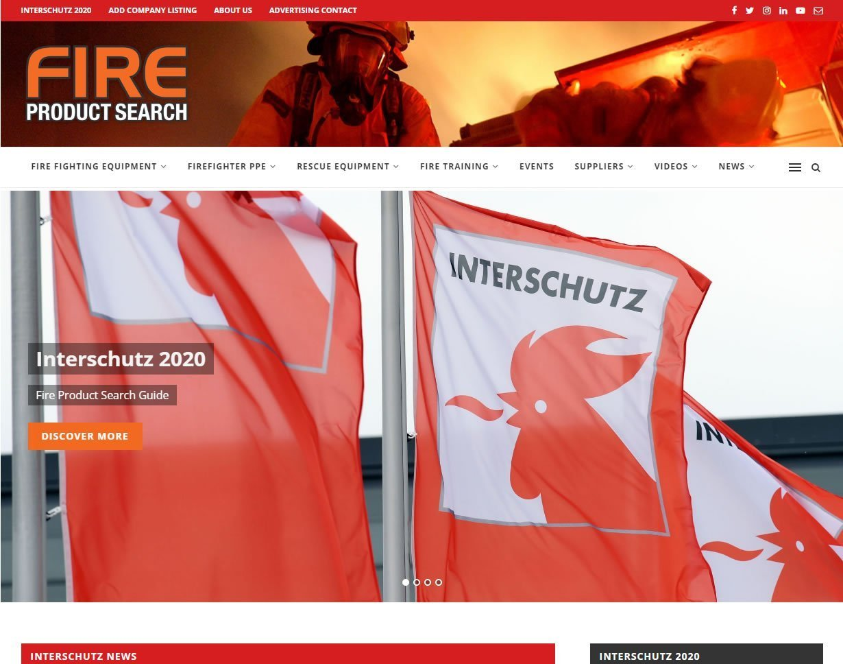 Fire Product Search Interschutz 2020 Guide